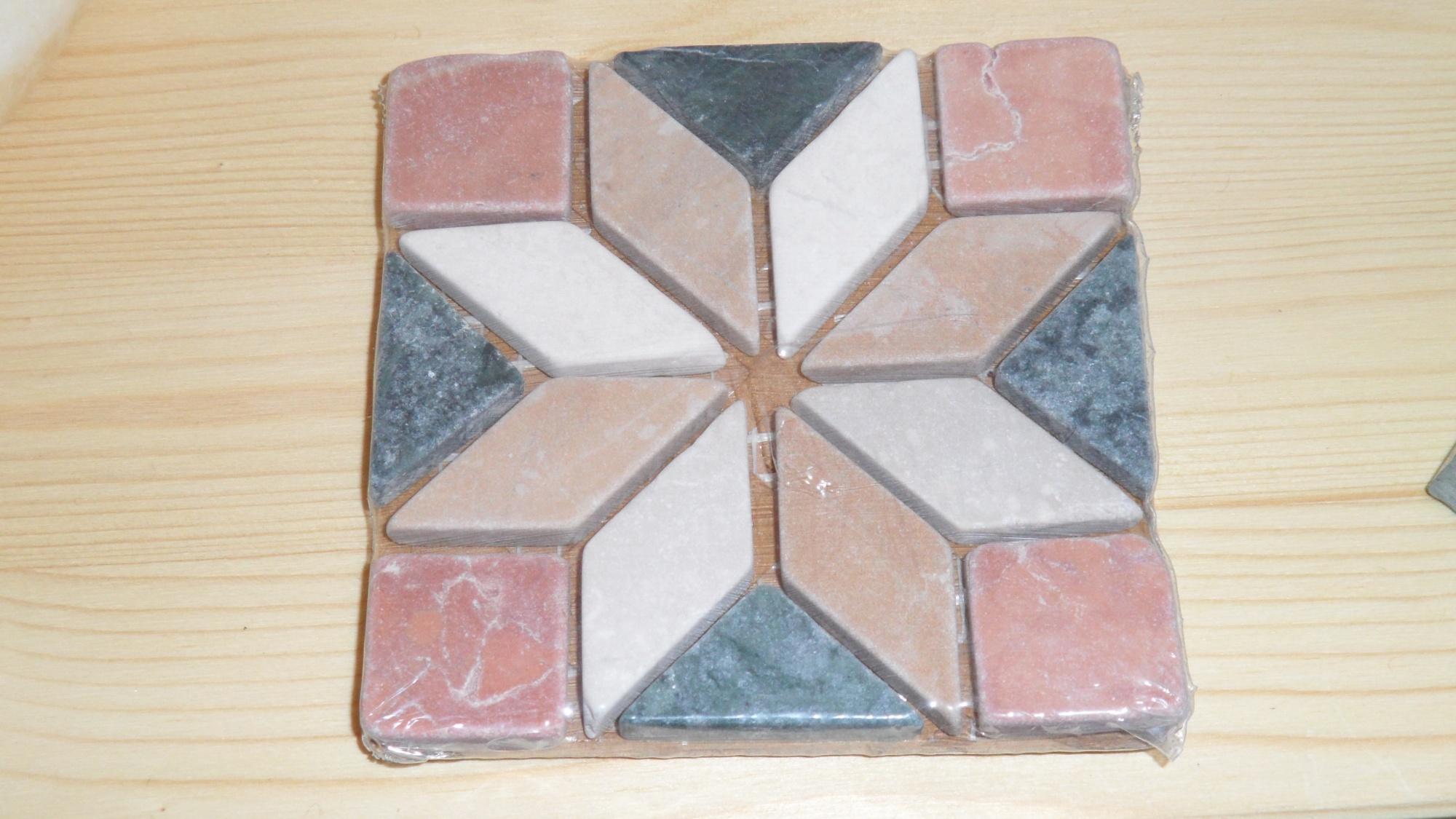 Inserti decorazioni in marmo per cucina in muratura