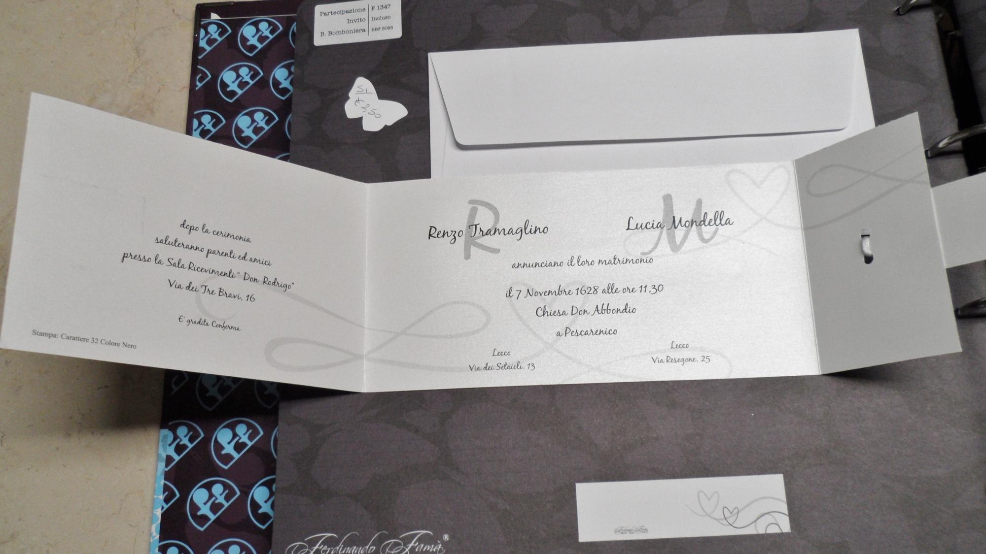 Partecipazioni Matrimonio Economiche 1 Euro.Partecipazioni Nozze 2018 Originali Eleganti Spiritose