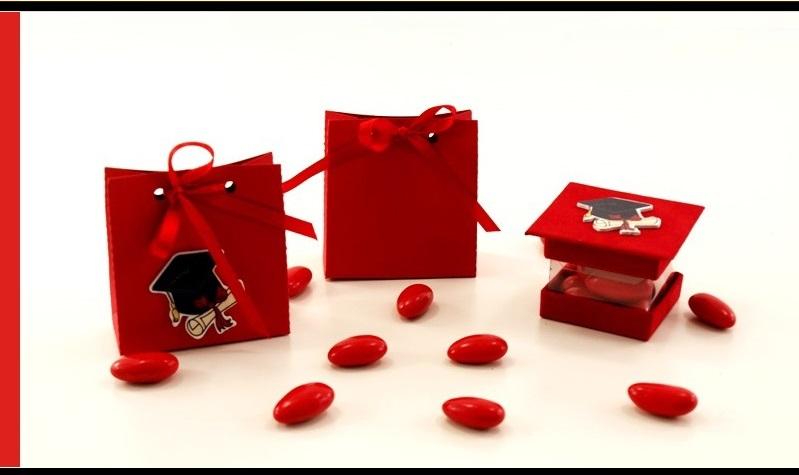 Favorito Porta confetti/ bomboniere laurea semplici ed economiche, bustina  LZ85